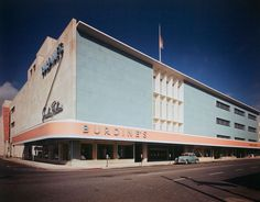 Burdine's, 195,000 square foot department store in the 'Streamline Moderne' style architecture of the late Art Deco period of the 1930's.
