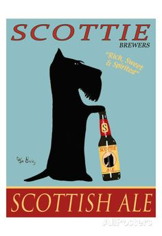 Scottie Scottish Ale Limited Edition by Ken Bailey at AllPosters.com