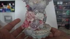 altered mini dressform from michaels, via YouTube.