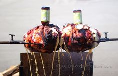 BBQ @ Brasseurs Illimités, beer pork roast