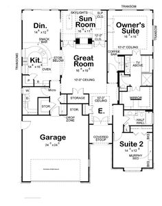 Two Bedroom House Plans for Small Land: Two Bedroom House Plans Large Garage Modern Kitchen Design ~ dickoatts.com Bedroom Designs Inspiration