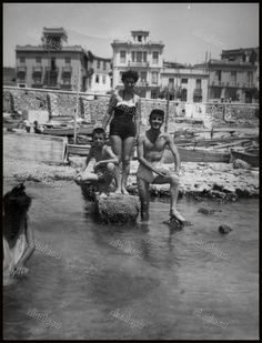Πλαζ Φρεαττύδας, 1954.