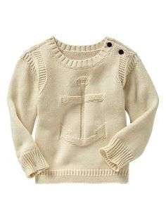 Must have this now!!!  Anchor crew sweater | Gap