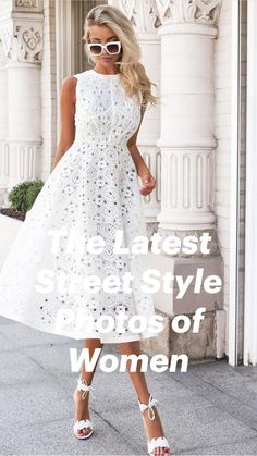 Floral Homecoming Dresses, Dresses To Wear To A Wedding, Graduation Dresses, Mini Dress Formal, White Mini Dress, Trendy Dresses, Fashion Dresses, Pencil Dress Outfit, Girls Easter Dresses