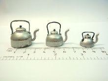 Vintage Style Aluminum Tea Kettles