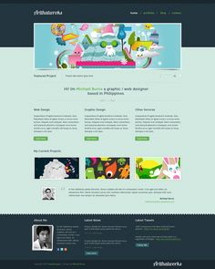 Artthatworks: Create A Beautiful Portfolio Landing Page In Adobe Photoshop