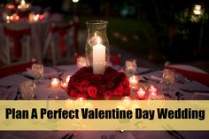 5 Ways To Plan A Perfect Valentine Day Wedding