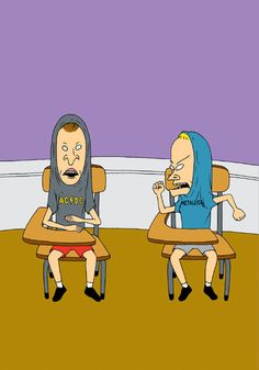 Beavis and Butthead used to be the biggest idiots on MTV. Now they're the smartest guys on that whole network!