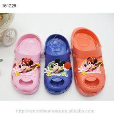 plastic pvc kids clogs sandals