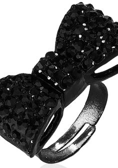 I love Bow Rings ! Goes amazing with LBD ! via @Roposo