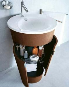 A sink with storage!