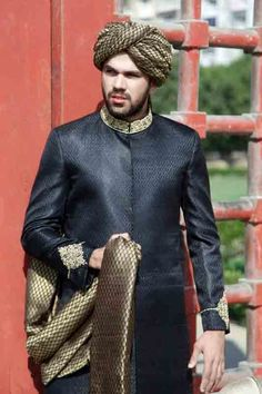 This is the image gallery of Pakistani Stylish Groom Sherwani Wedding Dresses 2014. You are currently viewing Latest Sherwani Collection 2014. All other images from this gallery are given below. Give your comments in comments section about this. Also share stylehoster.com with your friends.