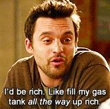 New Girl, Nick - Someday Ill be this rich too! :-)