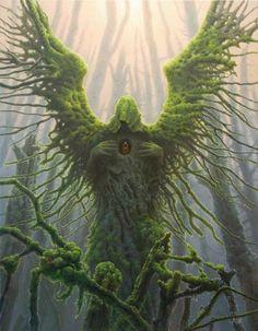 Non Photoshop Magical surrealism oil paintings by Tomasz Alen Kopera Dark Fantasy Art, Fantasy World, Mythological Creatures, Fantasy Creatures, Mythical Creatures, Nature Spirits, Surrealism Painting, Green Man, Gods And Goddesses