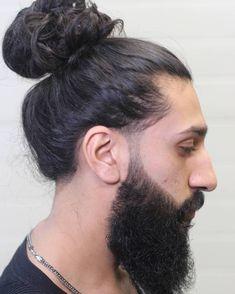 Man bun haircut 25 Sexy Man Bun Styles You Need to Know manbun bun haircut man man bun Sexy Styles Man Bun Undercut, Man Bun Haircut, Haircut Tip, Bun Hairstyles For Long Hair, Undercut Hairstyles, Long Curly Hair, Long Hair Cuts, 5 Minute Hairstyles, Man Bun Curly Hair