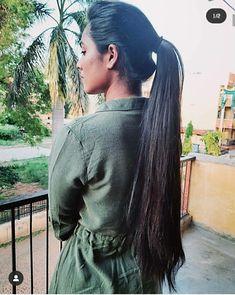 Ponytail Scrunchie, Long Hair Ponytail, Straight Ponytail, Pony Hair, Ponytail Hairstyles, Super Long Hair, Beautiful Long Hair, Hair Beauty, Dreadlocks