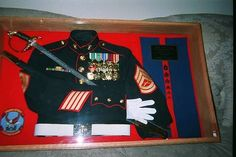 display boxes to put military uniforms in | ... uniform t shirt or uniform make our youtube view our shadow boxes