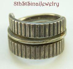 Estate Sterling Silver 925S Norway 1960's Tone Vigeland Slange Snake Ring Size 8 #ToneVigeland #Modernist Sterling Jewelry, Sterling Silver, Snake Ring, Norway, 1960s, Rings For Men, Wedding Rings, Engagement Rings, Ebay