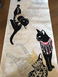 和風館 RUMIX 猫の浴衣 反物