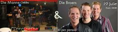 Plaasteater in Cape Town (Musical Venue): The Broers and The Manne Band at Plaasteater (Near. Cape Town, Musicals, Holidays, Band, Vacations, Holidays Events, Sash, Holiday, Bands