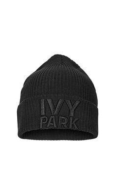 150aa85377ada Ribbed Logo Beanie Hat by Ivy Park