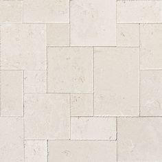 Found it at Wayfair - French Pattern Random Sized Stone Leather Tile in Beige