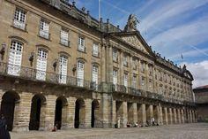 Fachada del Palacio de Rajoy o Pazo de Raxoi