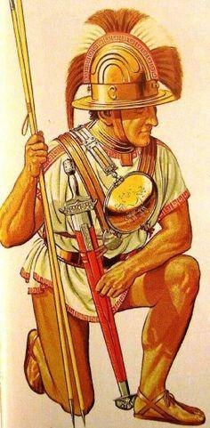 Etruscan Warrior, c. 500 BC.