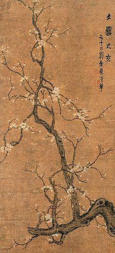 清代 - 金農 - 梅花 Painted by the Qing Dynasty artist Jin Nong 金農. View paintings, artworks and galleries at Chinese Art Museum.
