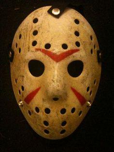 Friday the 13th Jason Voorhees VINTAGE STYLE MASK HOCKEY HALLOWEEN MASK GOALIE