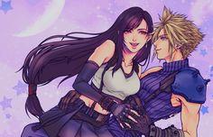 Tifa Final Fantasy, Final Fantasy Vii Remake, Fantasy Series, Fantasy World, Fantasy Art, Cloud And Tifa, Cloud Strife, Greek Goddess Art, Life Is Strange Fanart