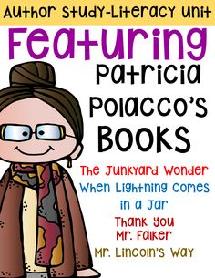 essays on patricia polacco Everything you need for a literature study on thunder cake by patricia polacco there are many ways to use these resources copy as.