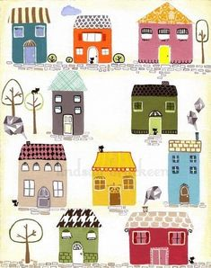 House Design Drawing Etsy 27 Ideas Informations About House Design Drawing Etsy 27 Ideas Pin You can House Design Drawing, House Drawing, Building Illustration, House Illustration, House Quilts, Little Houses, Small Houses, Designs To Draw, Home Art