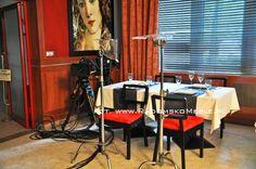 Krzesła i stoły na planie HOTEL 52 - MEBLE RADOMSKO - Krzesła drewniane i barowe - meble restauracyjne.