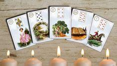 Zdarma online výklad karet Lenormand na časové pojmy. Zajímá vás kdy, nebo za jak dlouho? Zeptejte se karet. Tarot, Table Decorations, Astrology, Dinner Table Decorations, Tarot Decks, Tarot Cards
