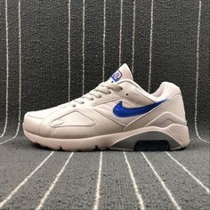 Buy Men Nike Air Max 180 White Blue Nike Air Max 180 UK in the shop.We guarantee that the shoes you buy are authentic, and we also offer you free home delivery. Air Max 180, Nike Men, Nike Air Max, Camo, Sneakers Nike, Blue, Stuff To Buy, Shoes, Camouflage