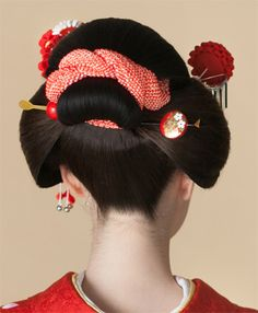 新日本髪  Hair style Japan