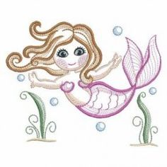 Rippled Little Mermaids