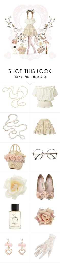 Sweetheart by fjarilsdrottning on Polyvore featuring мода, Accessorize, shu uemura, Heeley Parfums, Clips, Yves Saint Laurent and vintage