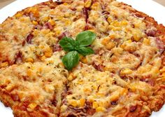 Túró alapú fitt pizza