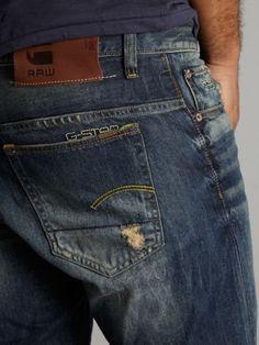 G-Star Slim 3301 rugby wash jeans Denim