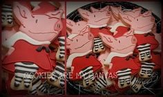 Olivia the Pig cookies cookies-are-my-canvas-my-cookies