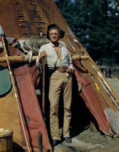 "Kirk Douglas in ""The Big Sky"" (1952) Director: Howard Hawks."