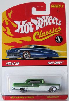 2006 Hot Wheels Classics Series 2 # 30 1955 Chevy Green 30/30