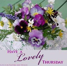 Have a lovely Thursday! ❤️