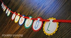 Back to School Banner. School Days Welcome Back. by stampinfanatic, $15.00