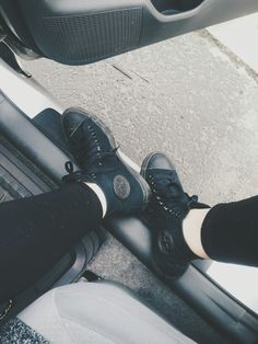 kinda want some black converse right now because they'd go with every piece of clothing i own