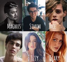 Shadowhunters, The Mortal Instruments, Clary Fairchild, Jace Herondale, Isabelle. Clary And Simon, Clary And Jace, Clary Fray, Mortal Instruments Runes, Shadowhunters The Mortal Instruments, Simon Lewis, Shadowhunters Malec, Clace, Dream Cast