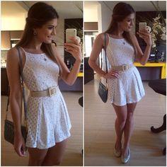 Sábado relax ✌️macacão @lojapaulapazzini  | #lookdodia #lookoftheday #ootd #selfie #blogtrendalert
