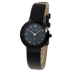 Skagen Quartz Stainless Steel Brown Mother Of Pearl Dial Womens Watch Luxury Watch Brands, Pre Owned Watches, Skagen, Smart Watch, Rolex, Jewelry Design, Quartz, Stainless Steel, Pearls